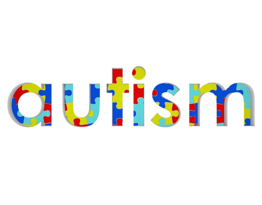 Image of the word autism