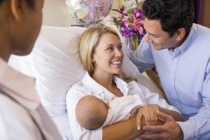 mother-father-newborn-birth-center | American Pregnancy Association