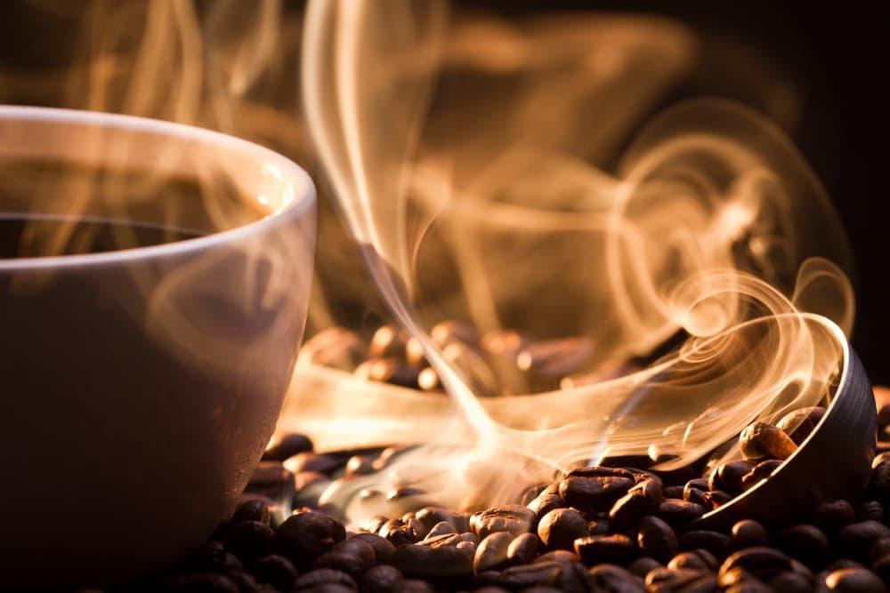 Imagen de café en una taza