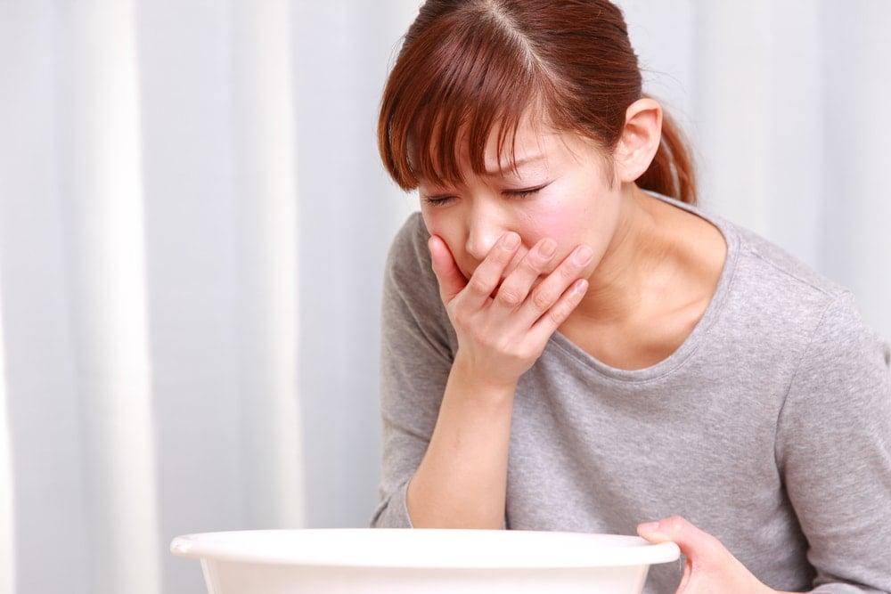 woman-feeling-sick-nausea-due-to-hyperemesis-gravidarum | American Pregnancy Association