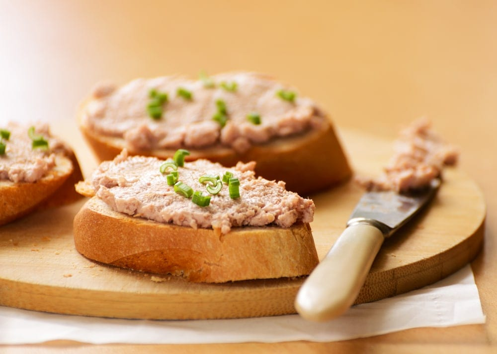 Eating pate should be avoided during pregancy
