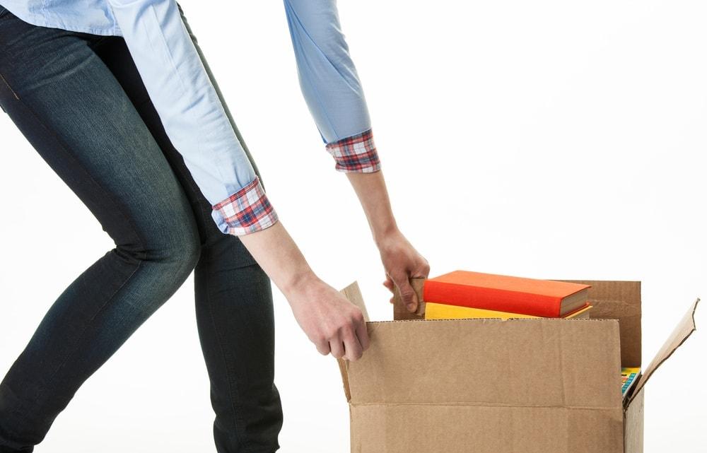 Cargando cosas pesadas es una primaria causa de hernias