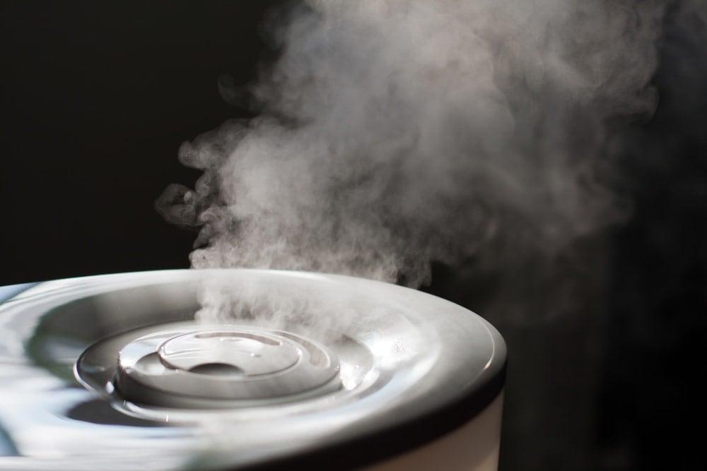 Los humidificadores son un buen remedio casero para las infecciones de los senos paranasales