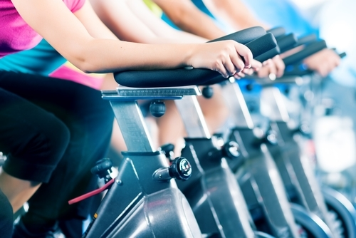 pregnancy-workouts-spin class