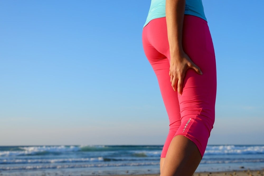 Pregnant woman with muscle cramps