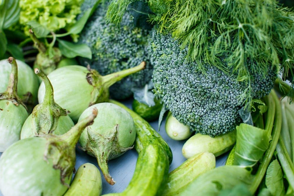 Vegetables that are high in folic acid