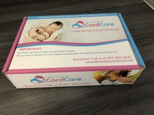 Affordable Cord Care product box | American Pregnancy Association