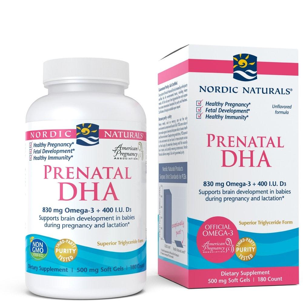 Perenatal DHA