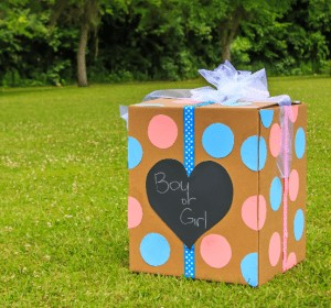 box gender reveal party | American Pregnancy Association