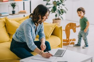 Work at home with new baby   American Pregnancy Association