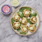Salmon Croquettes Patties and Avocado Aioli | American Pregnancy Association