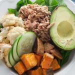garlic-herb-tuna-power-bowls | American Pregnancy Association