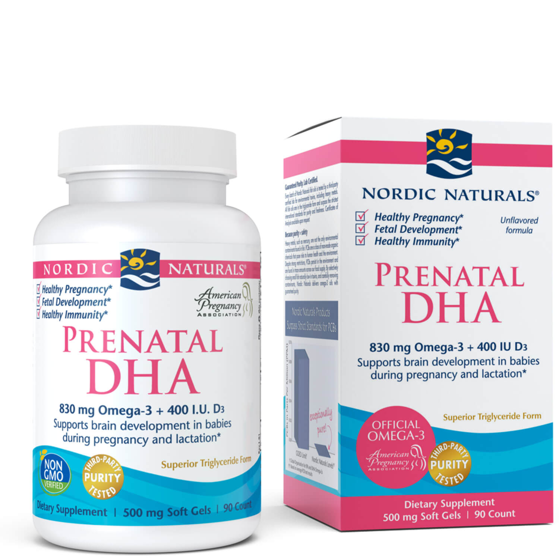 Prenatal DHA